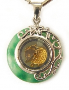 Golden Zodiac Pendants