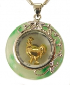 Golden Rooster Pendant