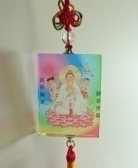 Crystal Kuan Yin Charms