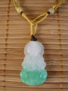 Jade Kuan Yin Necklace