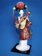 Chinese Collectible Doll with PiPa