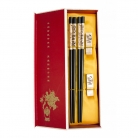 Chinese Chopsticks Set with Panda Pictures