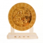 6 Heaven Gold Coins Plaque