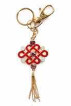 Red Mystic Knot Amulet