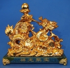 Golden Dragon Bringing Wealth