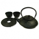 Black Cast Iron Tea Set