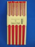 Red Chopsticks in Bulk