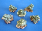 Set of Feng Shui Frogs