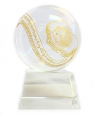 Crystal Globe with Ru Yi