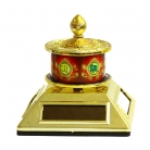 Solar Energy Prayer Wheel