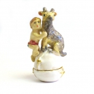Bejeweled Horoscope Capricorn Statue