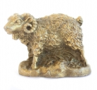 Metal Sheep Statue