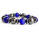 Magnetic Bracelet - Dark Blue and Black