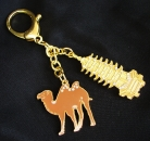 Golden Pagoda with Camel Amulet