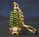 7-Level Pagoda KeyChain Amulet