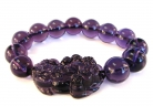 Dark Purple Pi Yao Bracelet