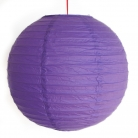 2 of Purple Paper Lanterns