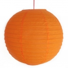 2 of Orange Paper Lanterns