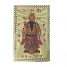 Wealthy God Money Talisman Card