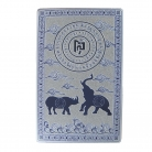 Blue Rhino Elephant Anti Burglary Talisman Card