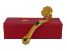 Golden Ru Yi Scepter with Auspicious Word