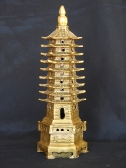 Brass 9-Level Pagoda