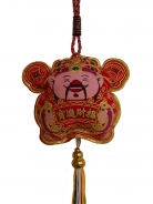 New Year Decoration Charm - Wealth God