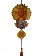 New Year Decoration Charm - Tangerine Lantern