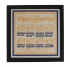 Eight Sugata Medicine Buddha Plaque