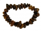Gold Tiger Eye Tumbled Stone Bracelet