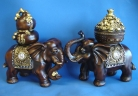 Pair of Elephant Statues