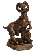 Golden Sheep Statue