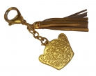 God of Wealth Amulet Keychain