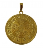 Feng Shui 5-Element Balancing Medallion Pendant