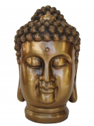 Meditation Buddha Head Figurine