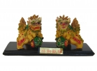 Pair of Feng Shui Foo Dogs