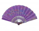 Purple Hand Fan