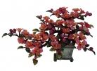 Red Jade Peony Flower Tree