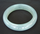 Light Green Chinese Jade Bangle