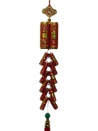 New Year Charm - Lucky Firecrackers