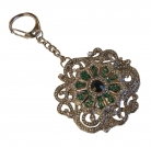 Green Tara Keychain for Empowerment