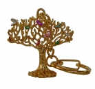 Birds on Wish Fulfilling Tree Amulet