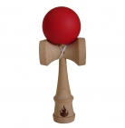 Red Rubberized Kendama