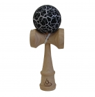 White/Black Crackle Kendama