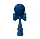 Full Print Black/Blue Crackle Kendama