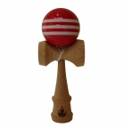 Triple Red/White Stripe Kendama
