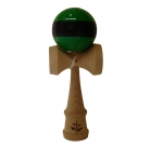 Green/Black Stripe Kendama