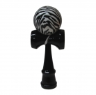 Zebra Kendama with Black Handle