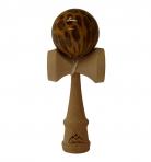 Brown/Yellow Leopard Kendama