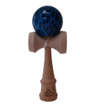 Black/Blue Leopard Kendama